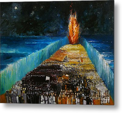 Exodus Metal Print by Richard Mcbee