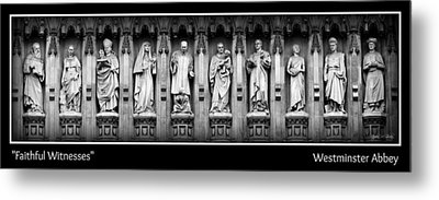 Faithful Witnesses -- Poster Metal Print by Stephen Stookey