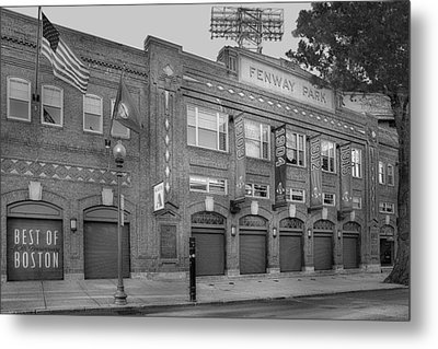Fenway Park - Best Of Boston Metal Print by Susan Candelario