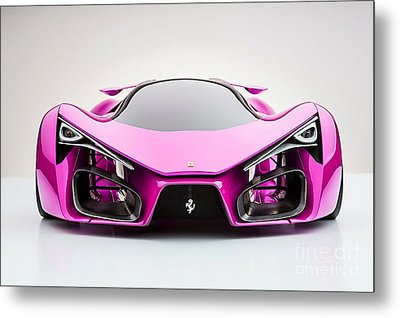 Ferrari F80  Metal Print by Marvin Blaine