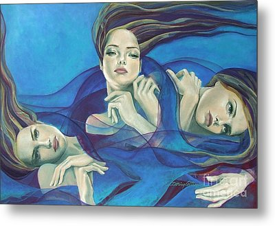 Fragments Of Longing  Metal Print by Dorina  Costras