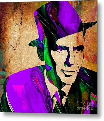Frank Sinatra Painting Metal Print by Marvin Blaine