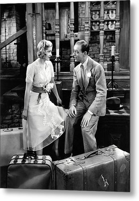 Fred Astaire Metal Print by Silver Screen
