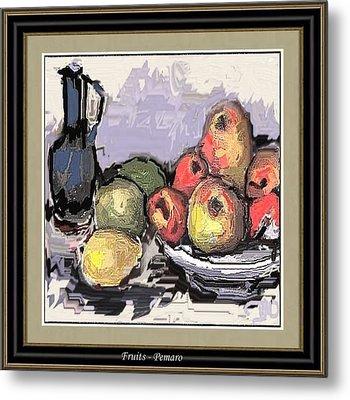 Fruit Metal Print by Pemaro