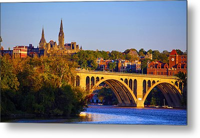 Georgetown Metal Print by Mitch Cat
