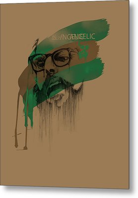 Ginsberg Metal Print by Pop Culture Prophet