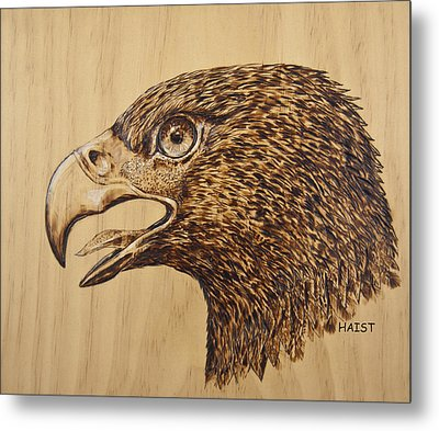 Golden Eagle Metal Print by Ron Haist