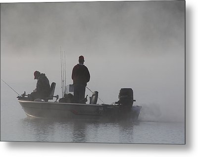 Gone Fishing Metal Print by Bruce Bley