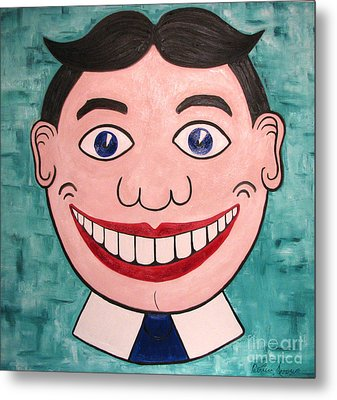 Happy Tilly Metal Print by Patricia Arroyo
