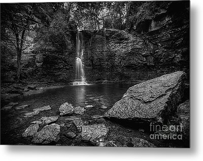 Hayden Falls Metal Print by James Dean