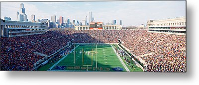High Angle View Of Spectators Metal Print by Panoramic Images