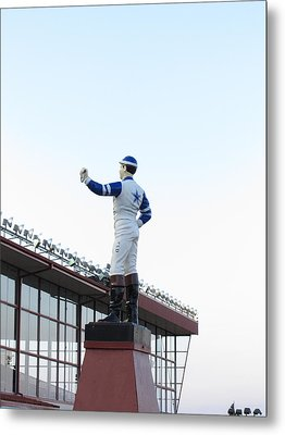 Hollywood Casino At Charles Town Races - 12124 Metal Print by DC Photographer