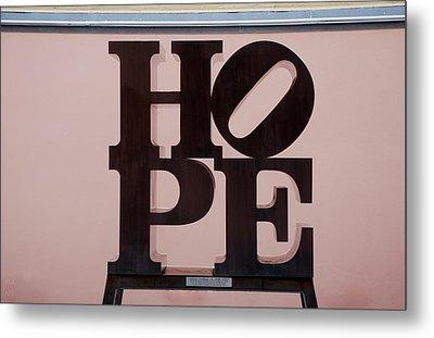 Hope Metal Print by Rob Hans