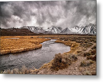 Hot Creek Metal Print by Cat Connor