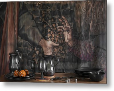 Invitation Metal Print by Svetlana Sewell