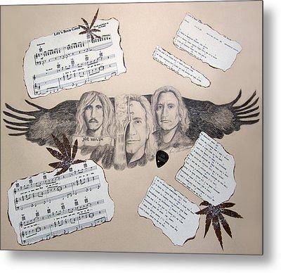 Joe Walsh Good Life Metal Print by Renee Catherine Wittmann