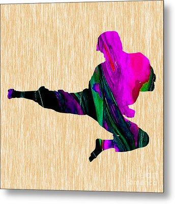 Karate Metal Print by Marvin Blaine