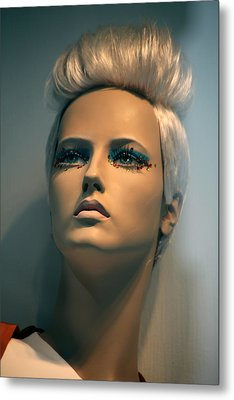 Kelly Metal Print by Jez C Self