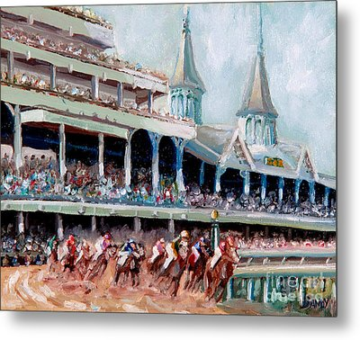 Kentucky Derby Metal Print by Todd Bandy