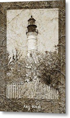 Key West Lighthouse Metal Print by John Stephens