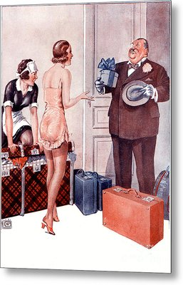 La Vie Parisienne 1920s France Cc Metal Print by The Advertising Archives