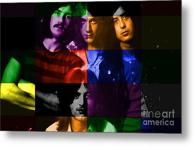 Led Zeppelin Metal Print by Marvin Blaine