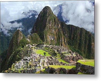 Machu Picchu Metal Print by Dan Breckwoldt
