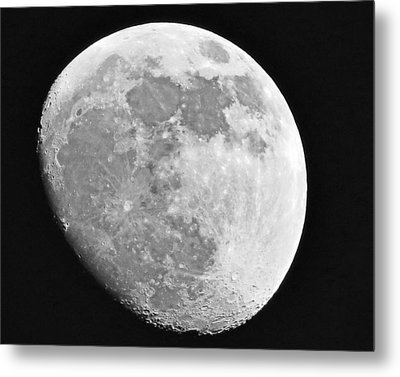 Man In The Moon Metal Print by Tom Gari Gallery-Three-Photography