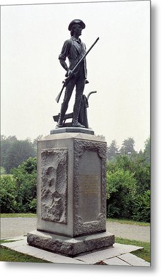 Minutemen Soldier Metal Print by Granger