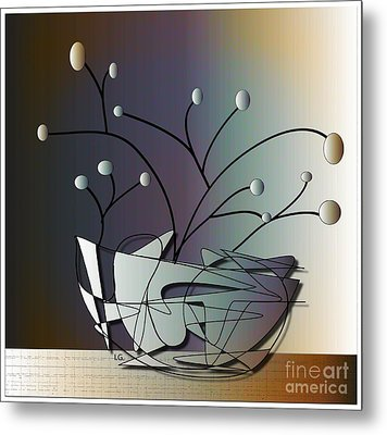 Mode Metal Print by Iris Gelbart