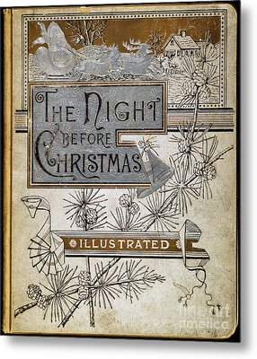 Night Before Christmas Metal Print by Granger