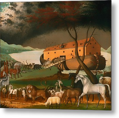 Noah's Ark Metal Print by Mountain Dreams