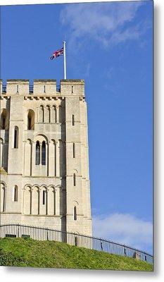 Norwich Castle Metal Print by Tom Gowanlock