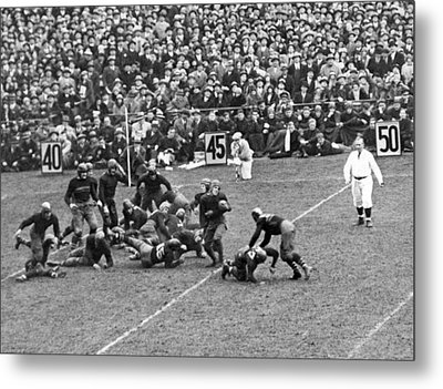 Notre Dame-army Football Game Metal Print by Underwood Archives