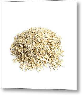 Oats Metal Print by Science Photo Library