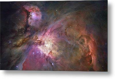 Orion Nebula Metal Print by Sebastian Musial