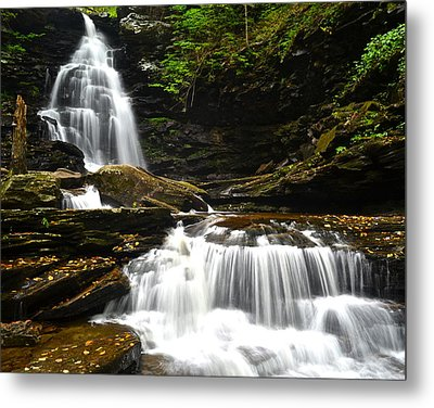 Ozone Falls Metal Print by Frozen in Time Fine Art Photography