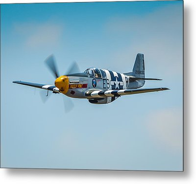 P-51 Mustang Metal Print by Puget  Exposure