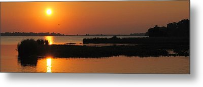 Panoramic Sunset Metal Print by Frozen in Time Fine Art Photography