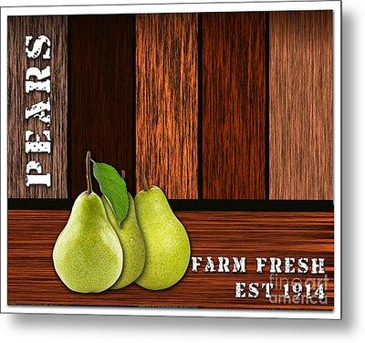 Pear Farm Metal Print by Marvin Blaine
