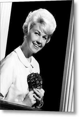 Pillow Talk, Doris Day, 1959 Metal Print by Everett