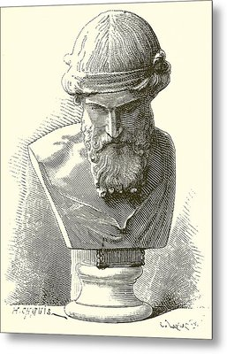 Plato  Metal Print by English School