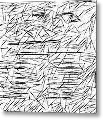 Postmodern Abstraction Metal Print by Jonathan Harnisch