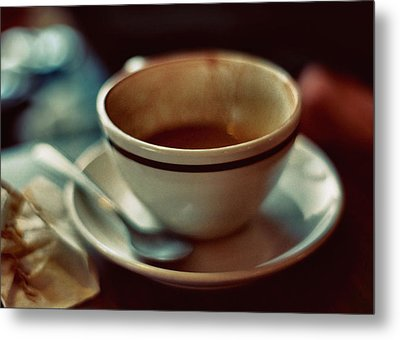 Quad Macchiato Metal Print by Stephanie Hollingsworth