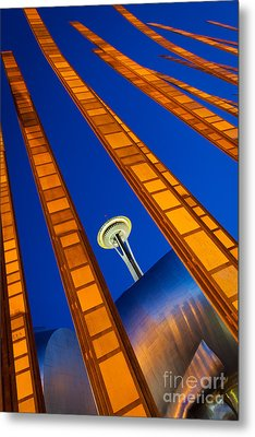 Reach For The Sky Metal Print by Inge Johnsson