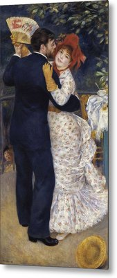 Renoir, Pierre-auguste 1841-1919. Dance Metal Print by Everett