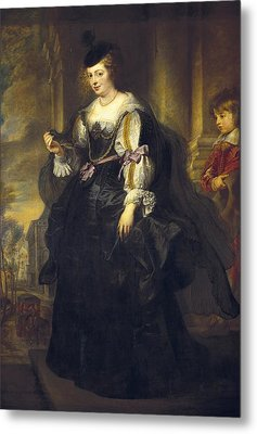 Rubens, Peter Paul 1577-1640. Helena Metal Print by Everett