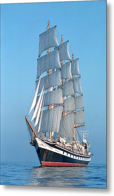 Sailing Ship Metal Print by Anonymous