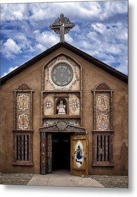 Santo Nino Chapel  Metal Print by Nikolyn McDonald