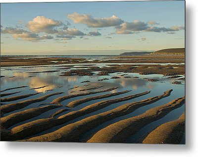 Saunton Sands Devon Metal Print by Pete Hemington